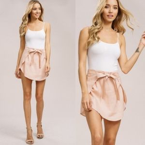 MICHELLE Mini Skirt - BLUSH